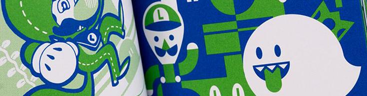 Luigi artbook