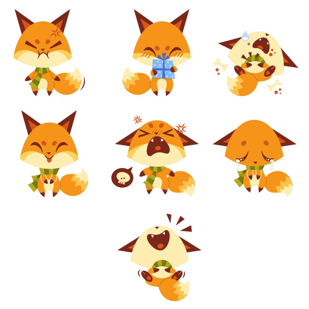 Chip Social Messenger Stickers Momo Amp Sprits