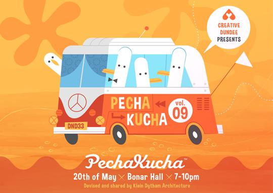 Pecha Kucha Night poster